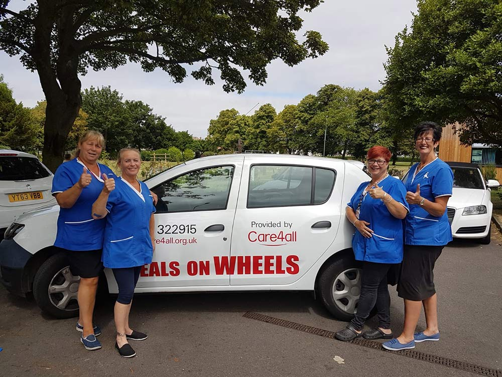 Meals on Wheels team