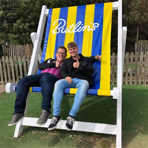 Living Our Lives Deckchair